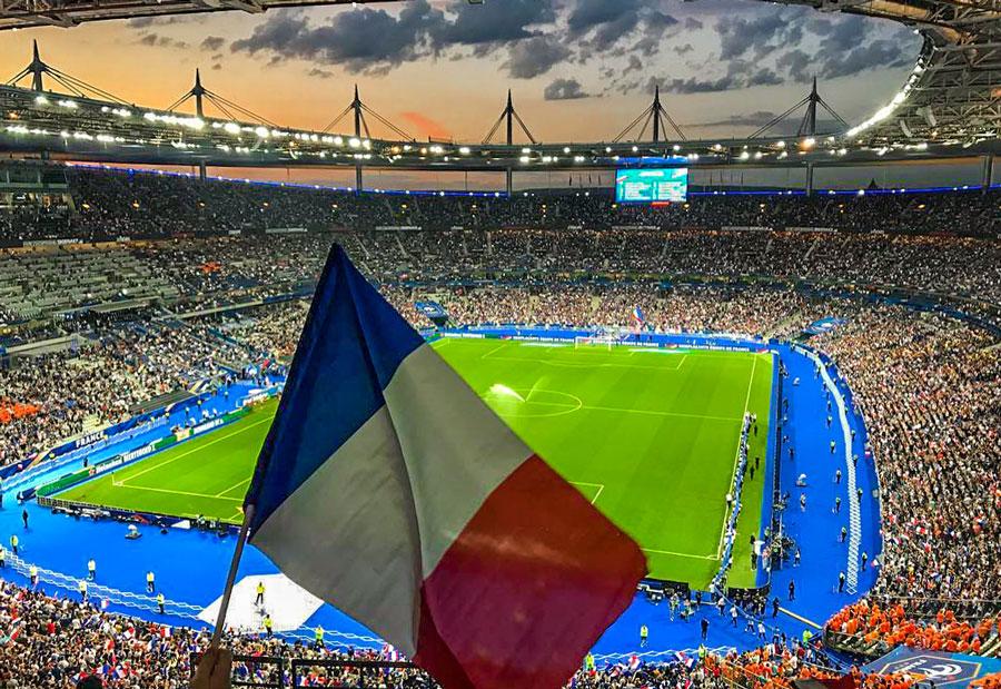 Voetbal Stadion Parijs PSG
