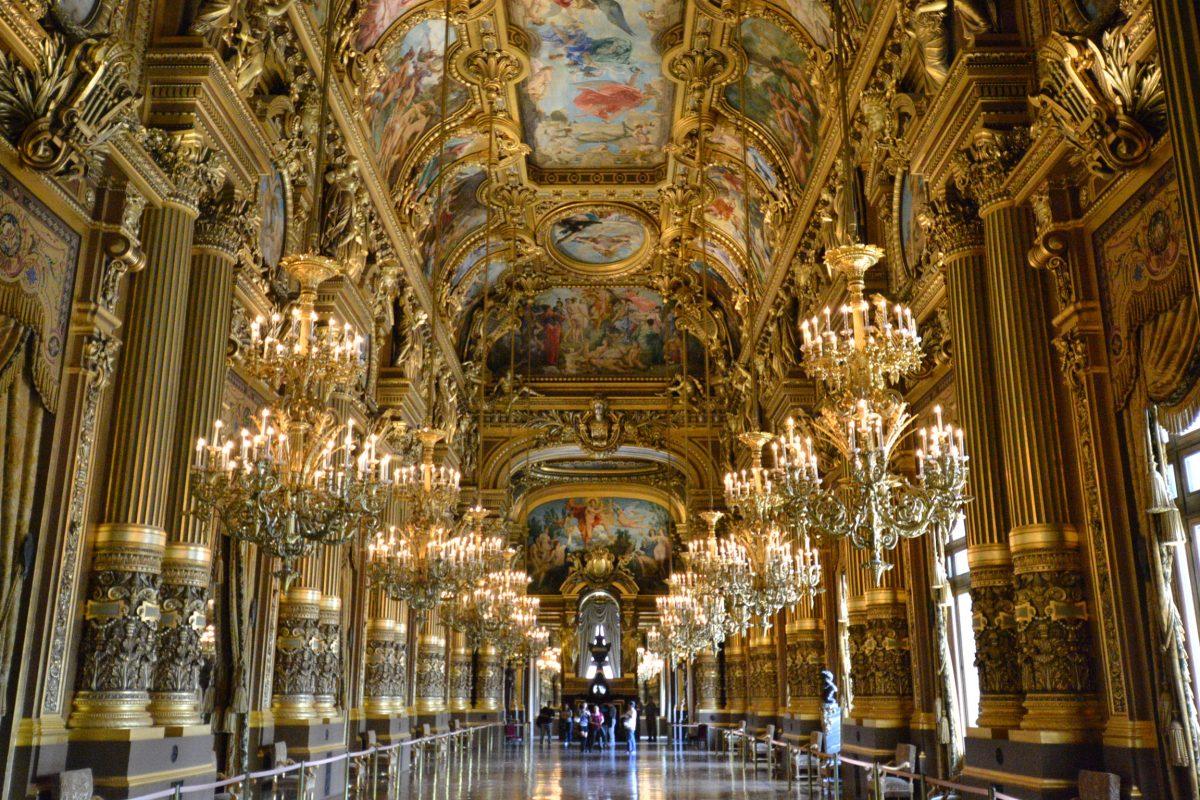 Superficie Grand Foyer Opera Garnier : Opéra garnier wegwijs naar parijs