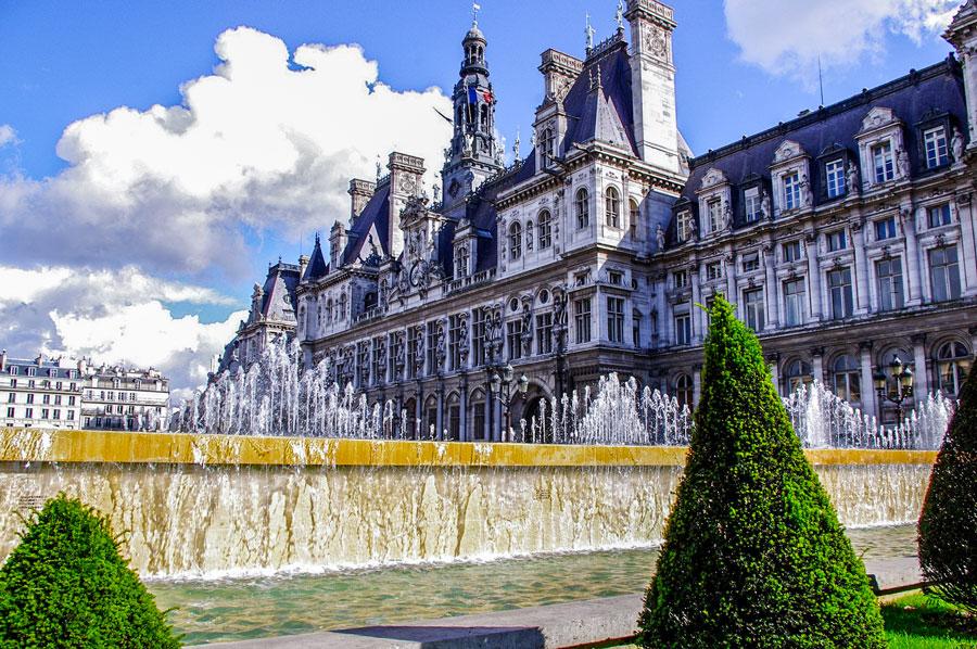 Hotel de Ville Parijs bezienswaardigheden