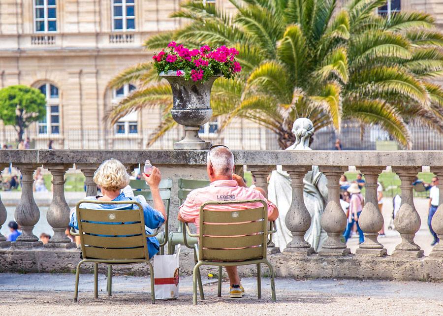 Jardin du Luxembourg Parijs Saint Germain des Prés