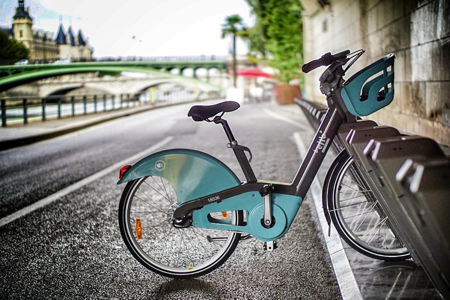 Vélib Fietsen in Parijs