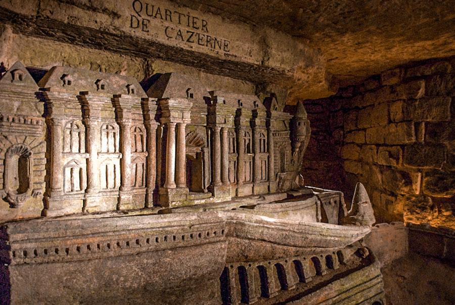 Port-Mahon van Décure Catacomben Parijs