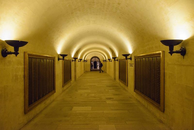 Cryptes van het Pantheon Parijs