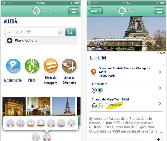 Metro App Parijs