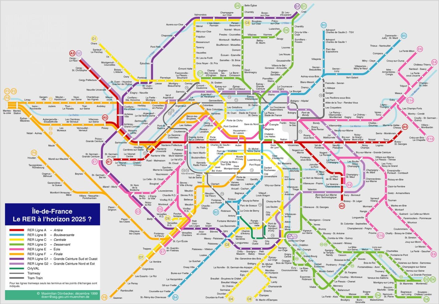 Metrokaart van parijs wegwijs naar parijs - Tegel metro parijs ...