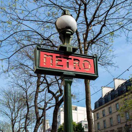 Metro van Parijs