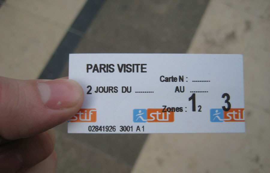 Tickets metro Parijs
