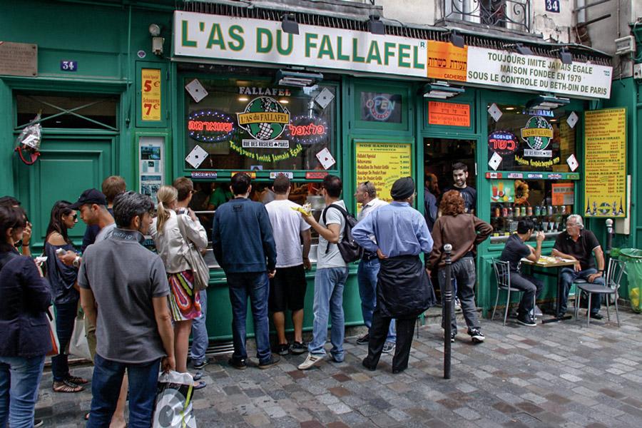 Falafel Marais Parijs