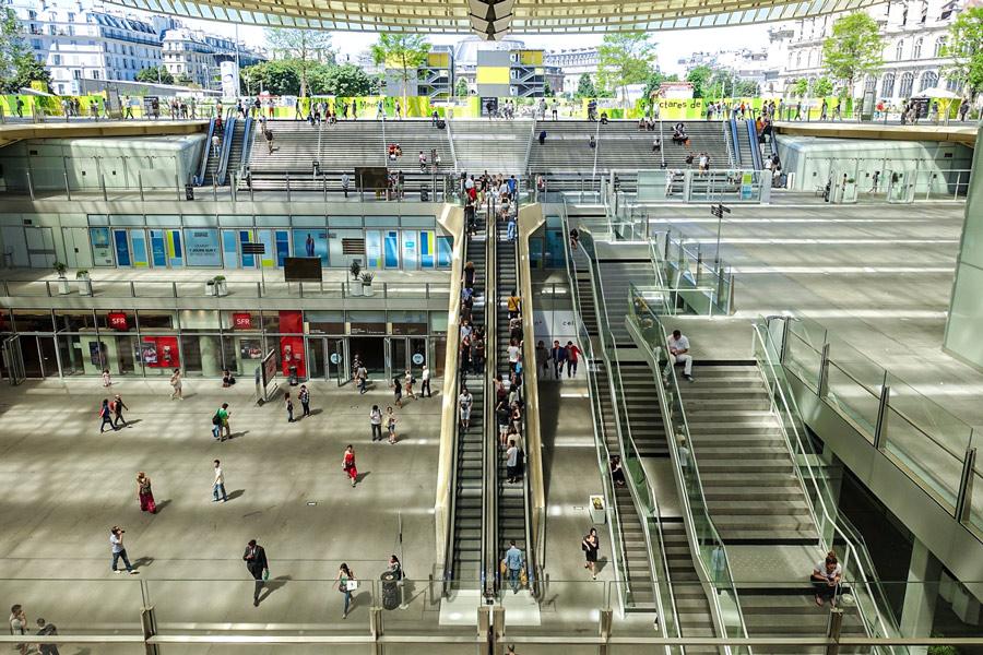 Winkelcentrum Les Halles