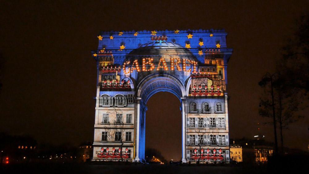 Oudjaar Parijs Arc de Triomphe