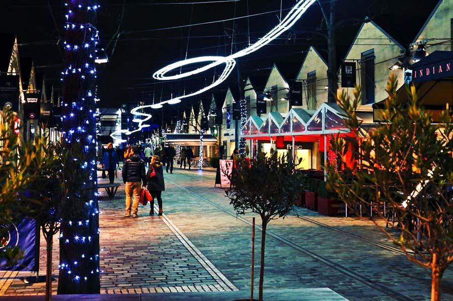Bercy Village Kerst Parijs
