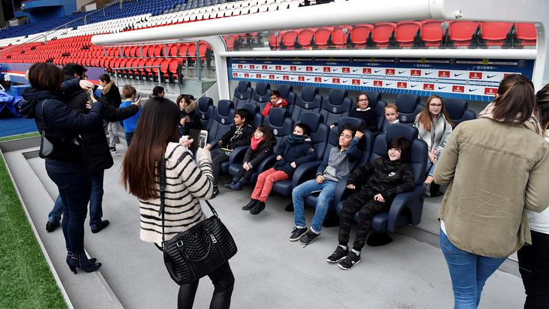 Stadiontour PSG stadion Parc des Princes