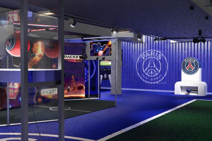 Virtual reality parc des princes