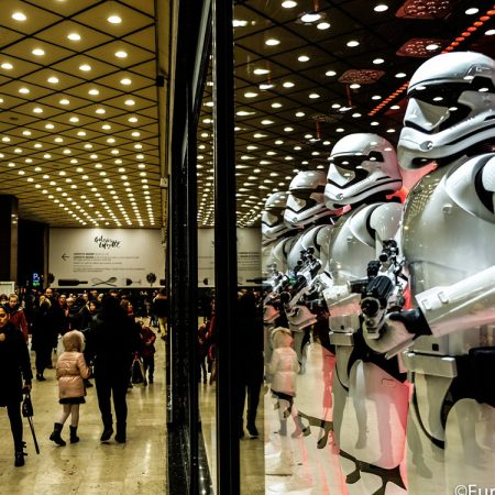 Star Wars in Galeries Lafayette 2015/2016