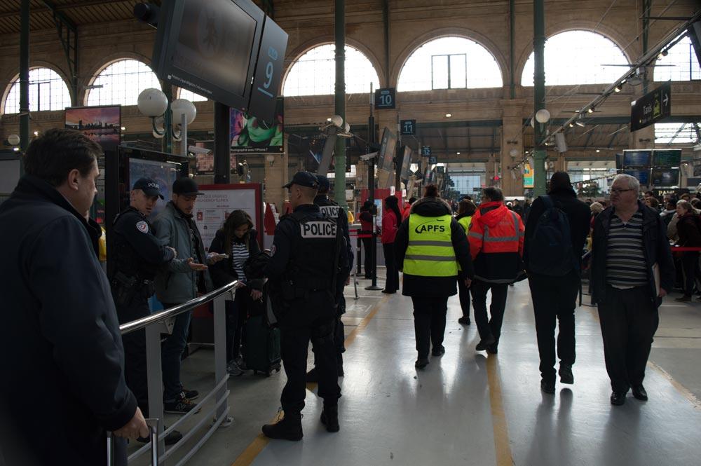Gare du Nord Thalys