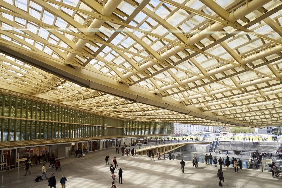 Winkelcentrum forum des halles parijs wegwijs naar parijs - Magasin les halles paris ...