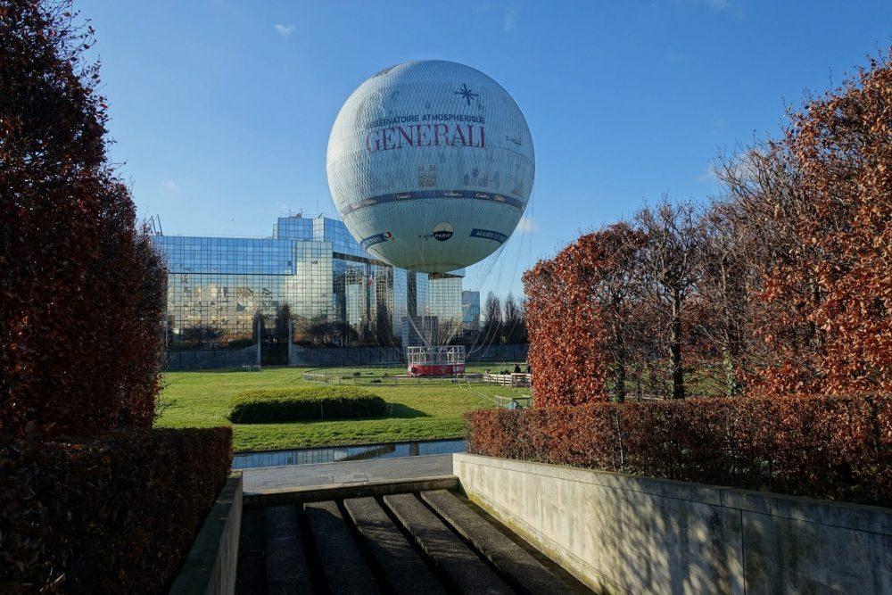 Luchtballon in Parijs