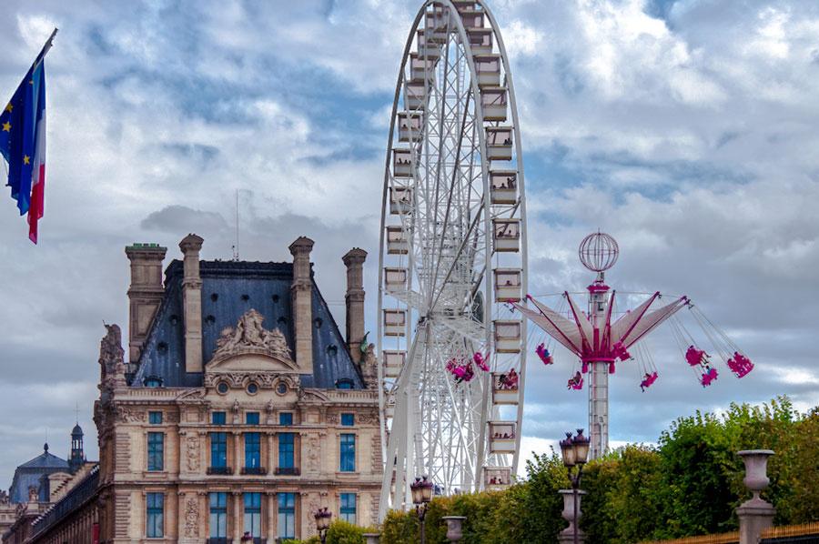 Kermis in Jardin des Tuileries