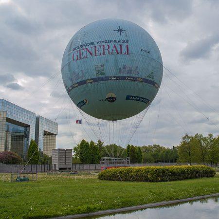 Het mooiste uitzicht over Parijs met Ballon Generali