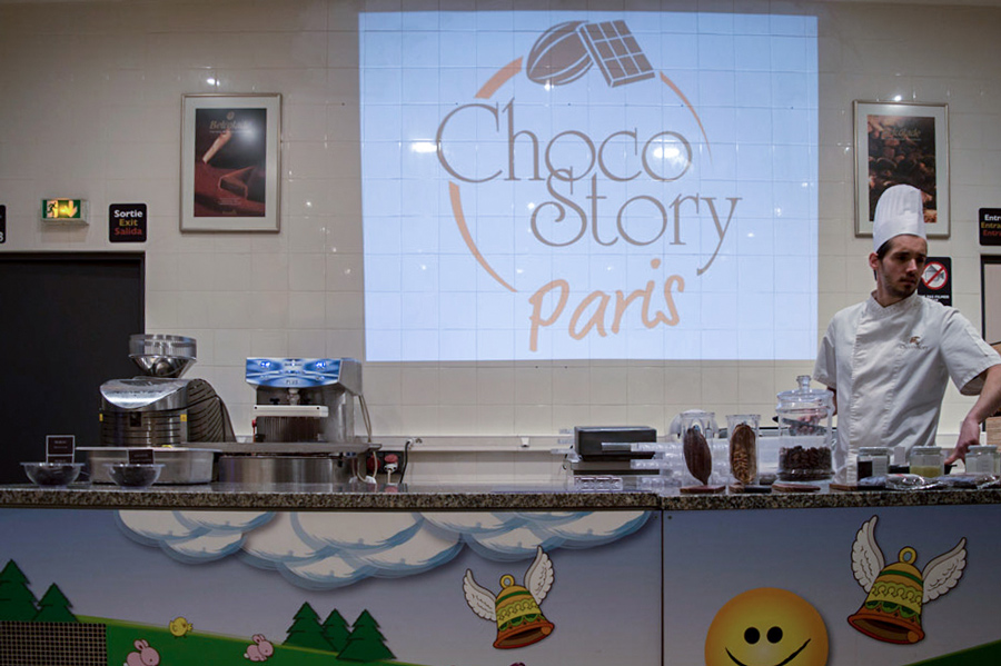 Choco Story Parijs Chocolademuseum Kinderen in Parijs