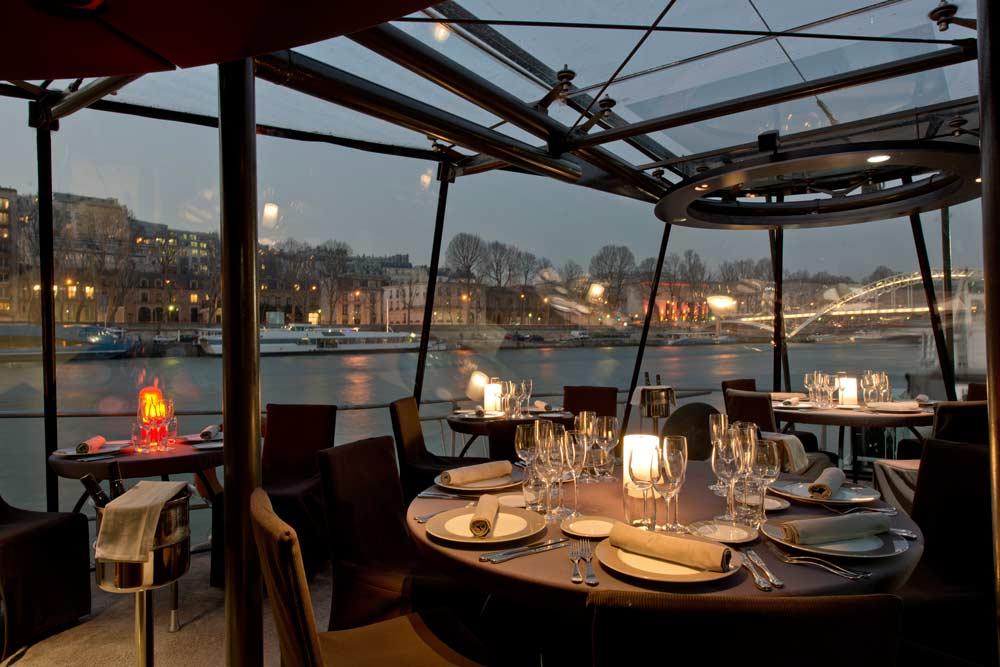 Dinercruise over de Seine