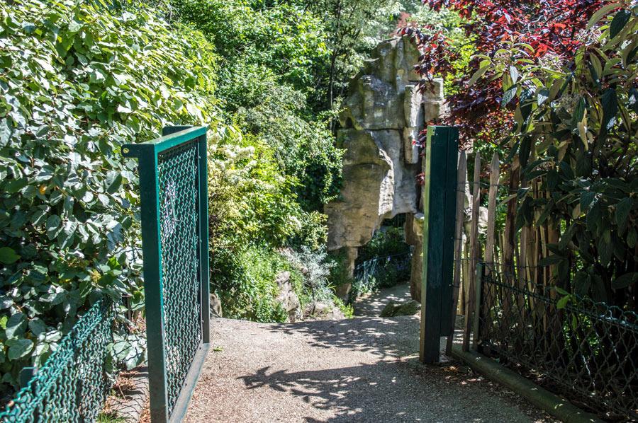 Geheime tuin Parijs