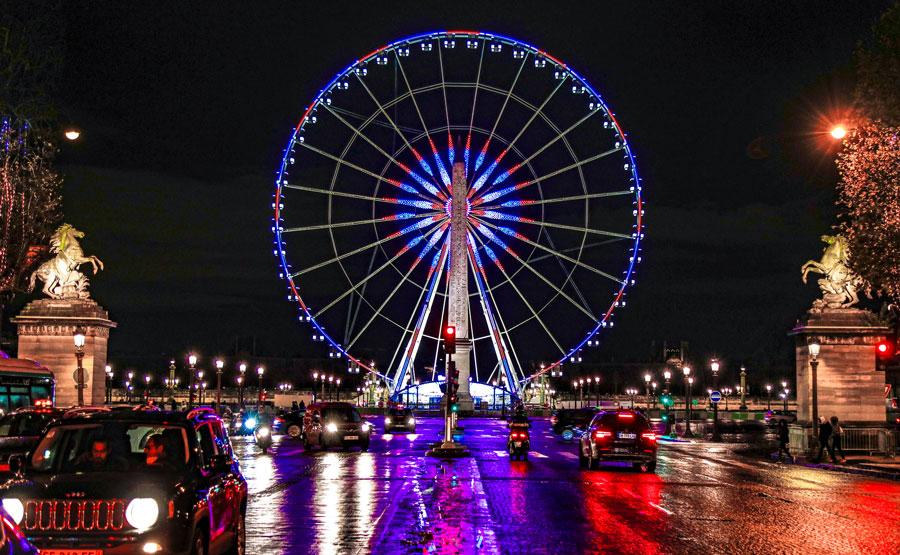 Reuzenrad Place de la Concorde