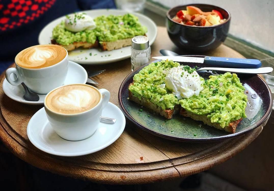Fragments lunch hotspot in Parijs