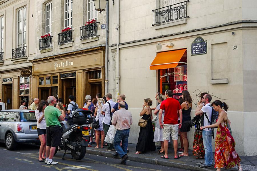 Berthillon beste ijs van Parijs