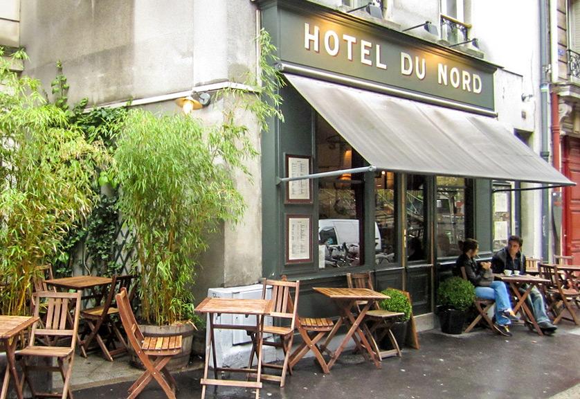 Canal Saint-martin hotel du nord