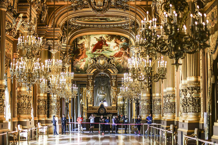 Opéra Garnier Parijs Run My City