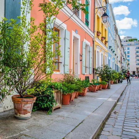 Rue Crémieux: de meest kleurrijke straat van Parijs