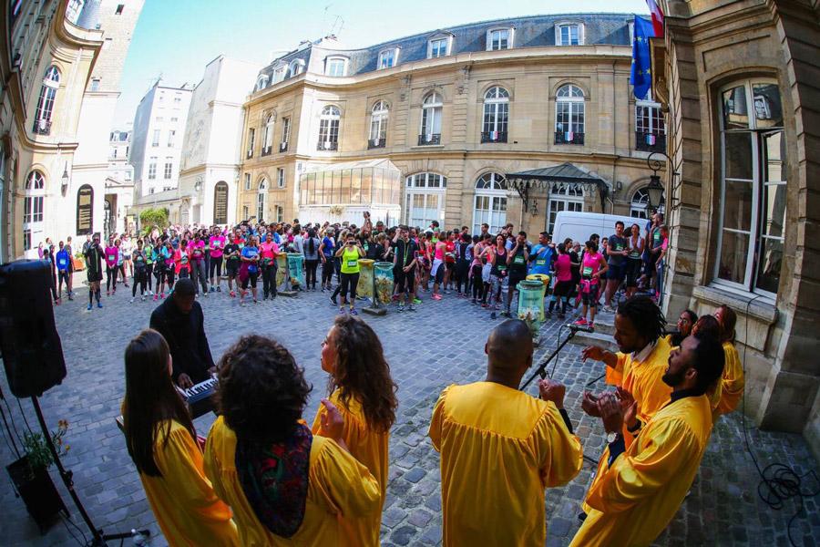 Run my City Parijs hardloop evenement