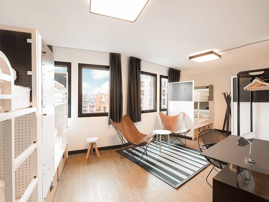 Goedkoop overnachten Parijs Hostel