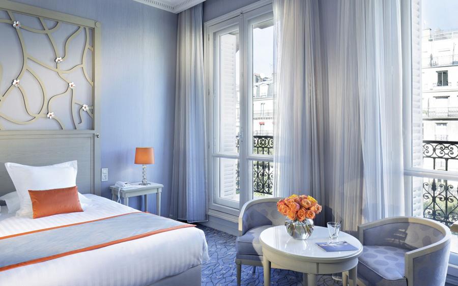 Hotel in Parijs Uitzicht Arc de Triomphe Hotel Splendid Etoile