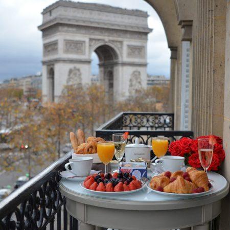 Hotel Splendid Étoile – uitzicht op de Arc de Triomphe