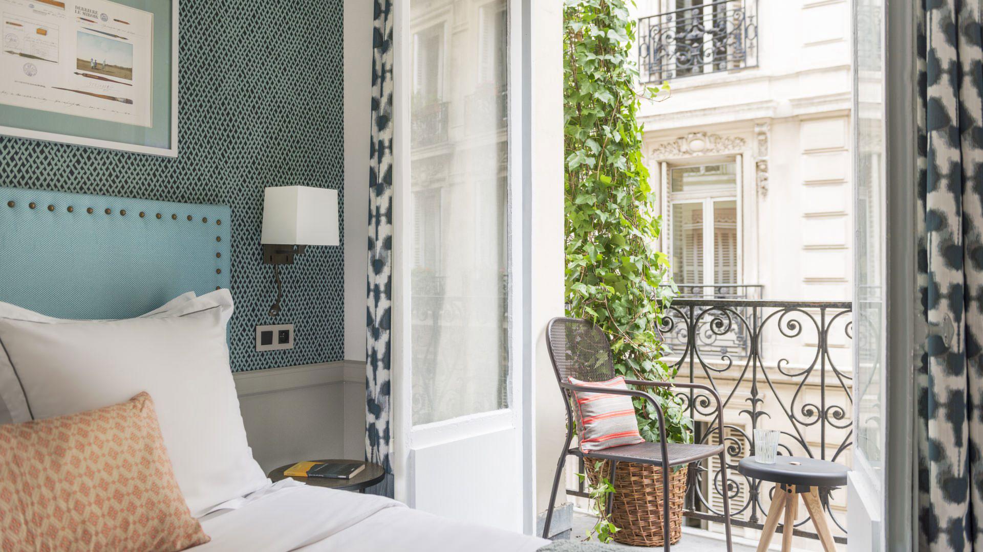 Boetiekhotel Hôtel Adèle & Jules overnachting in Parijs tip