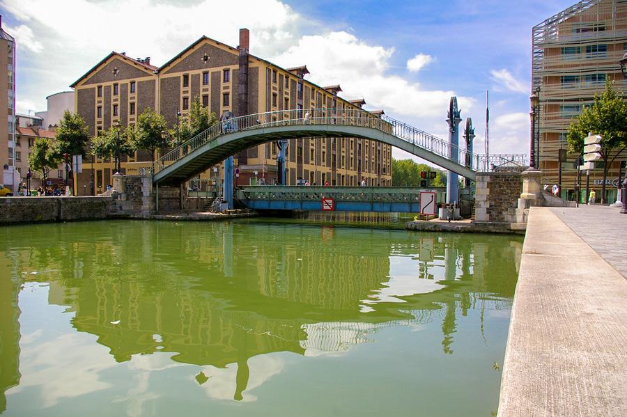 Bassin de la Villette Parijs