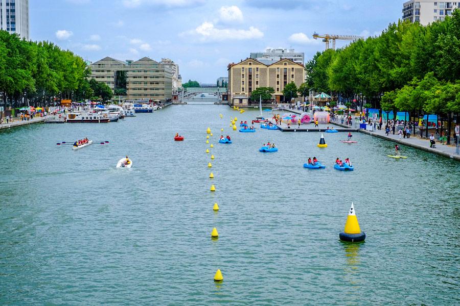 Paris Plages Parijs zomer strand oevers seine zwemmen