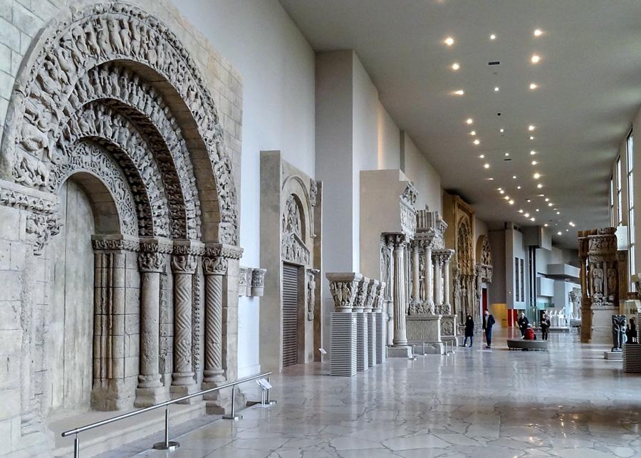 Cité de l'architecture et du patrimoine museum Parijs