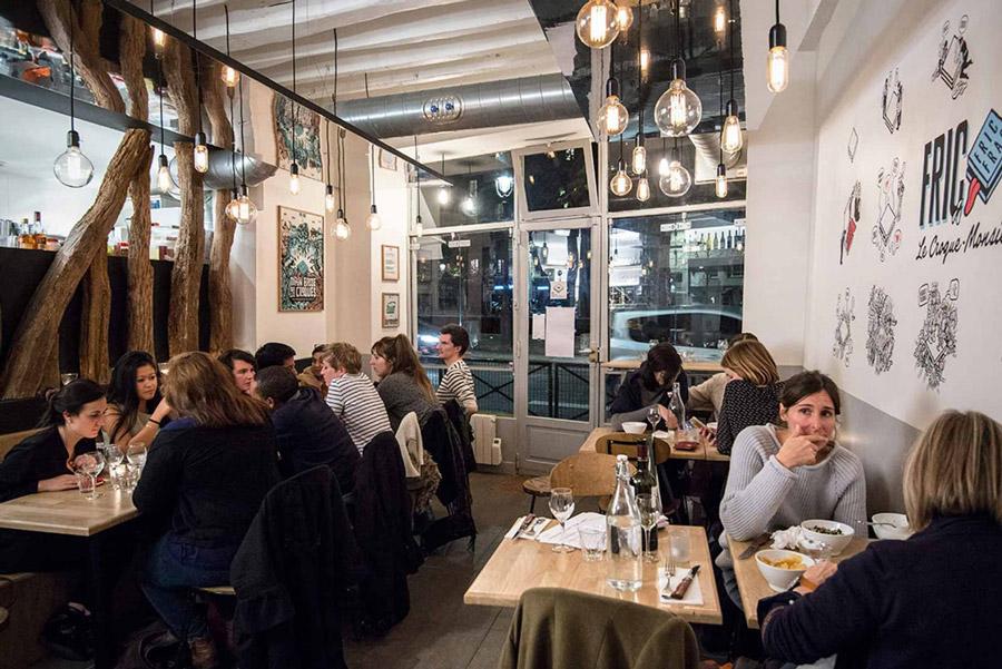 Fric Frac restaurant Parijs