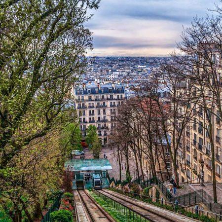 Le Funiculaire: het kabeltreintje van de Montmartre