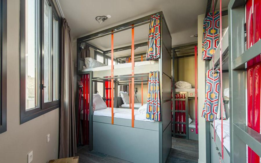 Goedkoop overnachten in Parijs Hostel