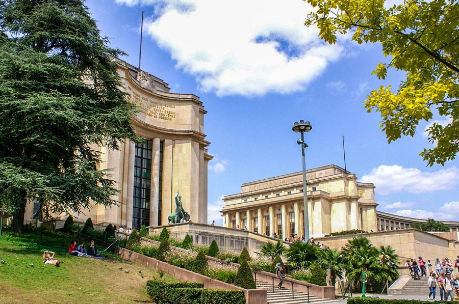 Palais de Chaillot Parijs
