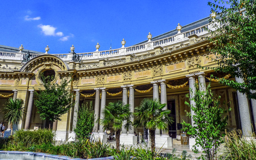 Petit Palais Parijs Museum Tuin