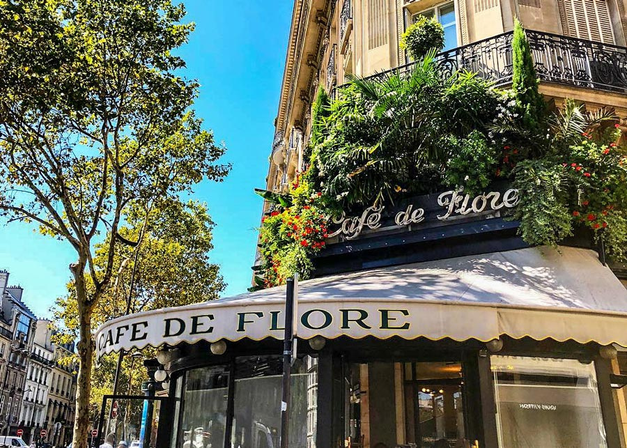 Café de Flore Parijs Saint-Germain des Prés