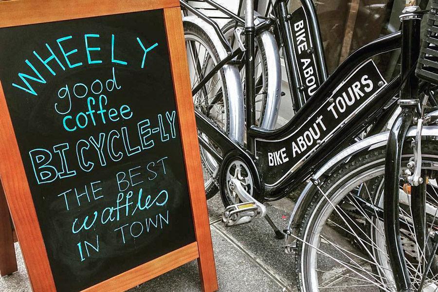 Fietstour Parijs bike About Tours Peleton Café