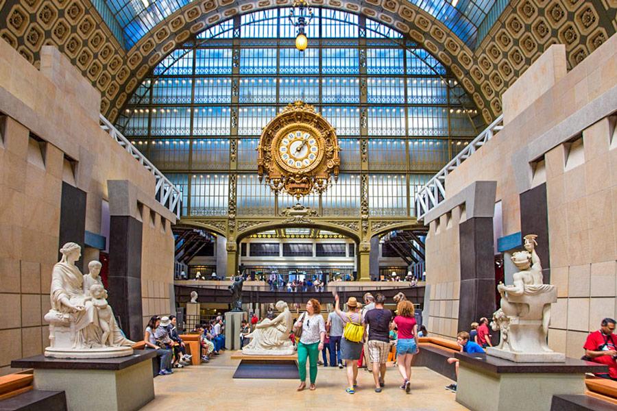 Musée d'Orsay Saint Germain des Prés Parijs