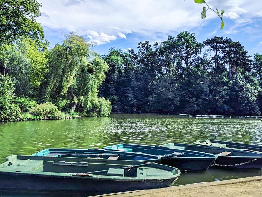 Bootjes in Bois de Vincennes, Parijs