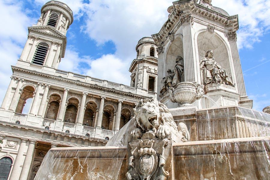 Église Saint Sulpice Saint Germain des Prés Parijs